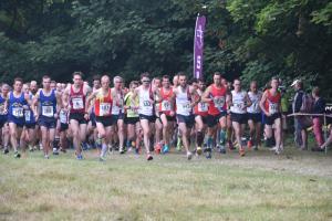 Runners set off on the Elmore 7 Run